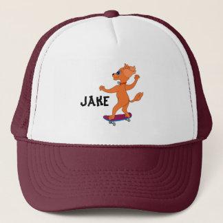 Happy Skateboarding by The Happy Juul Company Trucker Hat