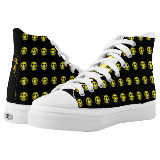 Happy Skull High Tops