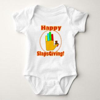 Happy Slapsgiving Design Baby Bodysuit