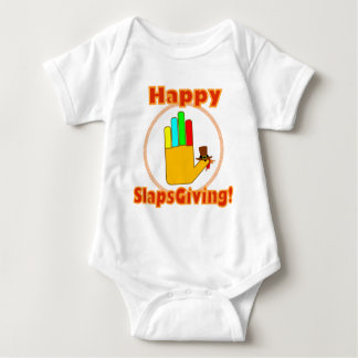 Happy Slapsgiving Design Infant Creeper