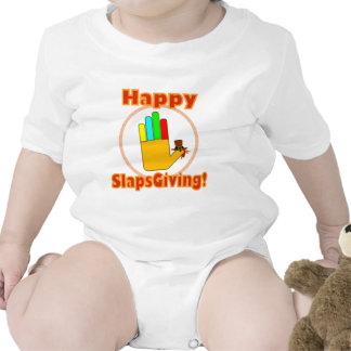 Happy Slapsgiving Design Bodysuits
