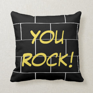 Happy Sleep - kissing You rock! Cushion