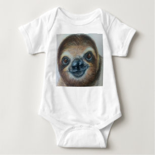 5b4201570be8 Cute Sloth Baby Clothes   Shoes