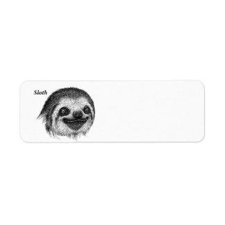 Happy Sloth Face