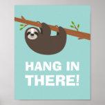 Happy Sloth Poster