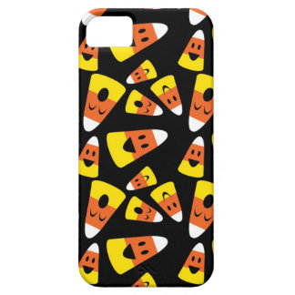 Happy smiley candy corn orange Halloween pattern iPhone 5 Case
