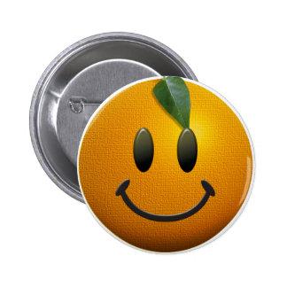 Happy Smiley Face 6 Cm Round Badge