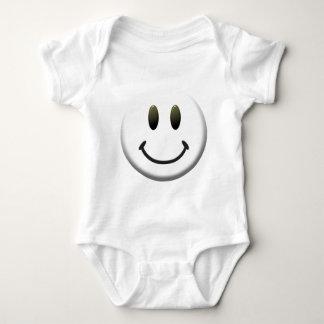 Happy Smiley Face Baby Bodysuit