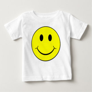 Happy Smiley Face Baby T-Shirt