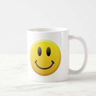 Happy Smiley Face Coffee Mug