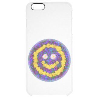 Happy Smiley Face Dandelion Flowers iPhone 6 Plus Case