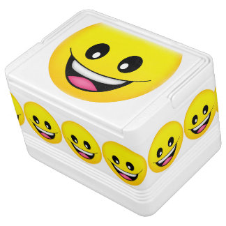 Happy Smiley Face Igloo Cooler