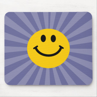 Happy Smiley Face Mouse Mat
