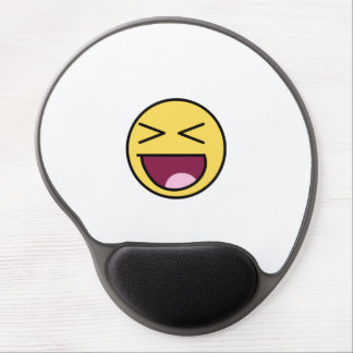 Happy Smiley Face Mousepad Gel Mouse Pad