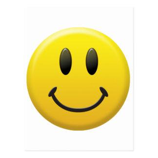 Happy Smiley Face Postcards