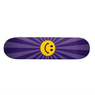 Happy Smiley Face Skate Board Deck