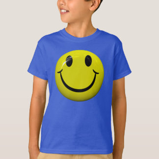 Happy Smiley Face T Shirt
