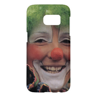 Happy Smiling Carnival and Circus Clown
