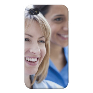 Happy smiling nurses. case for iPhone 4