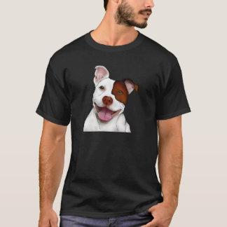 Happy Smiling Pitbull T-Shirt