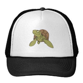 happy smiling sea turtle hats