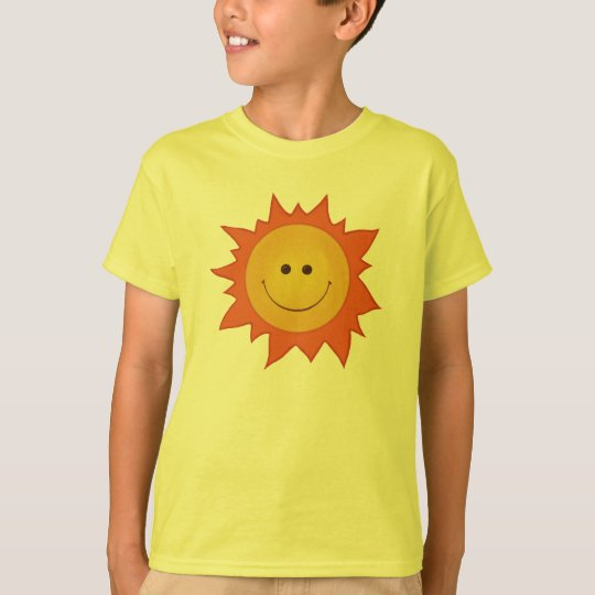 Happy Smiling Sun Kid T-Shirt