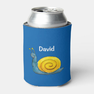 Happy snail | Adorable Animal Can Cooler