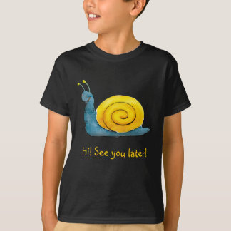 Happy snail | Adorable Animal T-Shirt