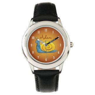Happy snail | Personalizable Kids Watch