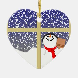 Happy snowman Christmas Christmas Ornament