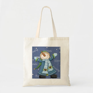 Happy Snowman - Christmas Design Tote Bag