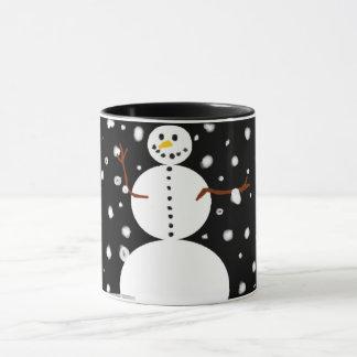 Happy Snowman Coffee Mug