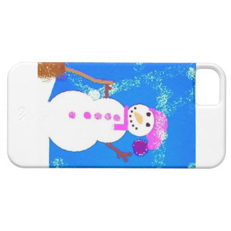 Happy Snowman iPhone 5 Covers