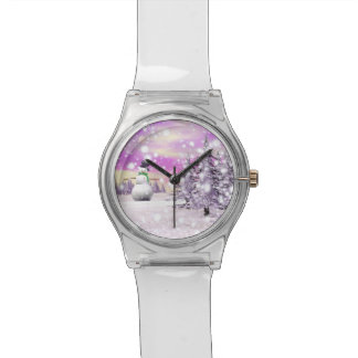 Happy snowman watch