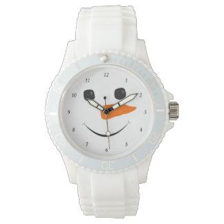 Happy Snowman Wrist Watch