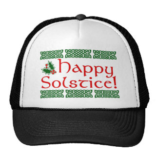 Happy Solstice Cap