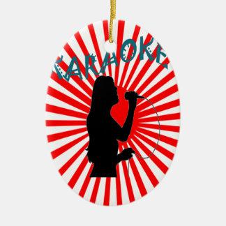 Happy Song Karaoke Christmas Ornament