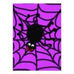 Happy Spider Invitation