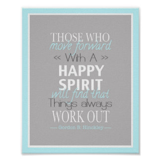 Happy Spirit Poster