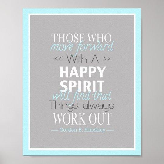 Happy Spirit Poster