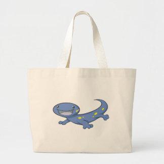 Happy Spotted Salamander Jumbo Tote Bag