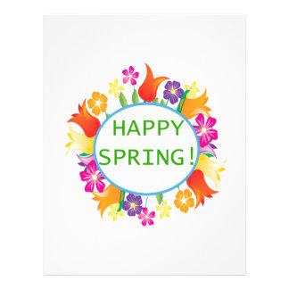 Happy Spring 21.5 Cm X 28 Cm Flyer