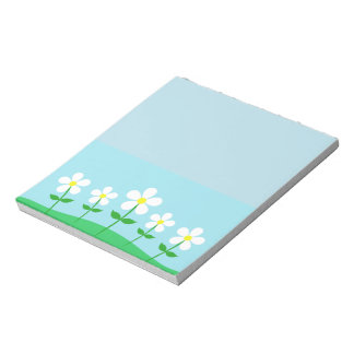 Happy Spring Daisies Notepad