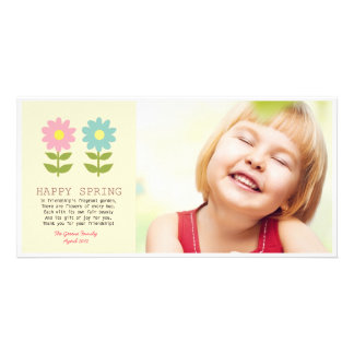 Happy Spring Friendship Custom Photo Card