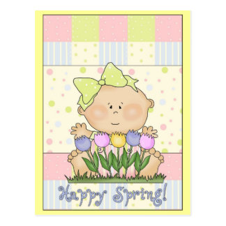 Happy Spring Post Card