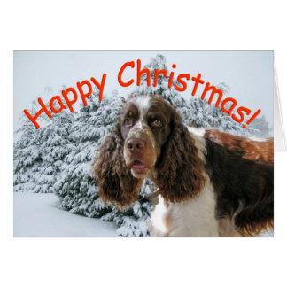 Happy Springer Xmas! Greeting Card