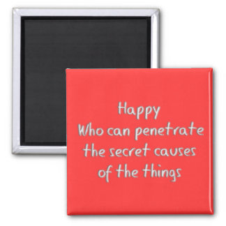 Happy Square Magnet
