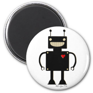 Happy Square Robot 1 Magnet