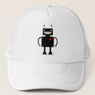Happy Square Robot 1 Trucker Hat