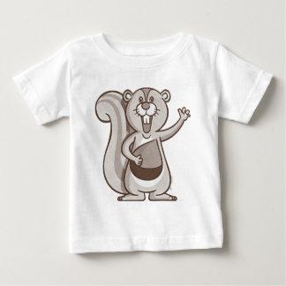 Happy Squirrel Baby T-Shirt